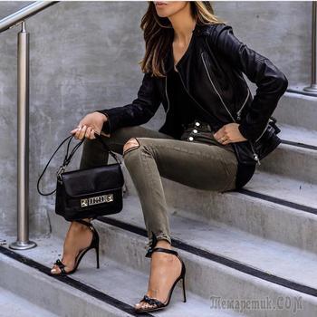 Как и с чем сочетать стильные узкие брюки и джинсы в 2017 году