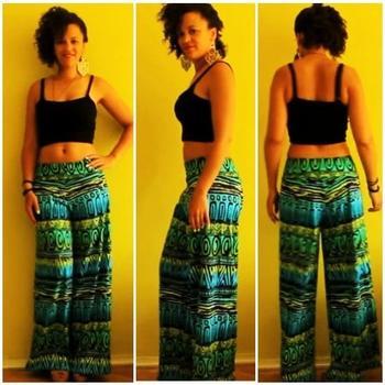 Стильная юбка-брюки без навыков кроя