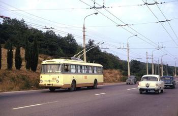 Из Симферополя в Ялту на троллейбусе!