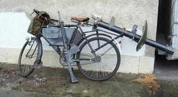 Велосипед швейцарской армии «Militärvelo», модели МО-05, МО-93, МО-12