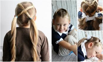 10 простых причесок для девочек, с которыми справятся даже папы