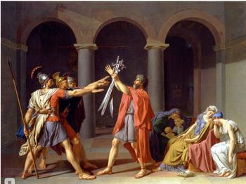 Влияние античности на европейскую живопись часть 5