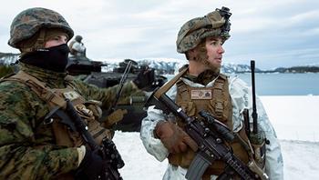 Морпехи США замерзли на учениях у границ РФ