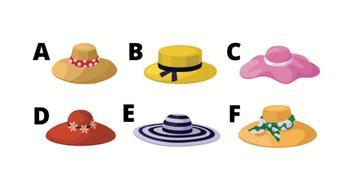 Быстрый тест: что о вас расскажет выбранная шляпка?