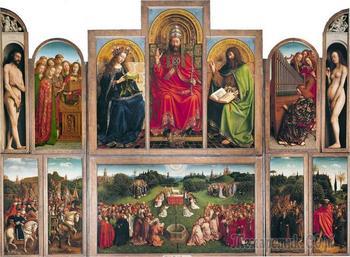 В чем секрет величайшего шедевра европейского искусства – Гентского алтаря братьев ван Эйков?