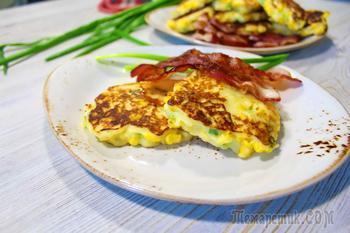 Вкусные лепешки к завтраку! Быстрый вариант завтрака для всей семьи)
