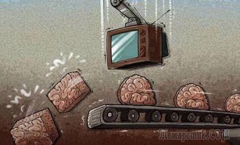 Не смотрите телевизор - вы этого достойны.