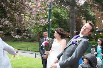24 случая, когда свадебный фотограф запечатлел нечто неожиданное