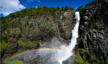 Самые высокие водопады в Европе: где находятся, описания, фото