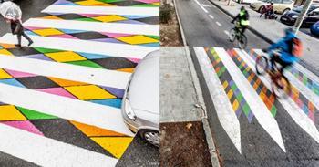 Краски Мадрида: яркие пешеходные переходы испанской столицы