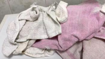 Как отбелить и смягчить махровые полотенца
