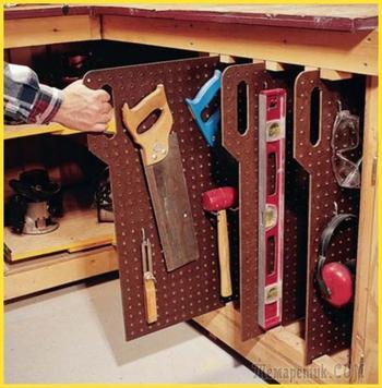 27 лайфхаков для организации пространства в гараже