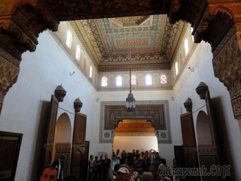 Марокко. Марракеш. Дворец Бахия - жемчужина города