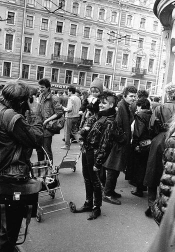 Их называли панками: 20 фото советских неформалов