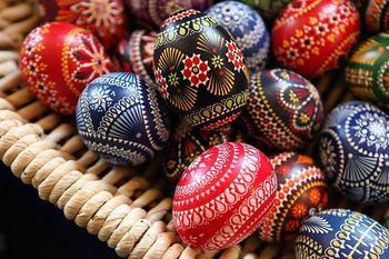Лужицкие пасхальные яйца