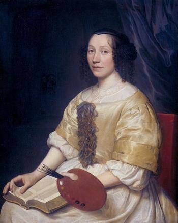 Художник Maria van Oosterwijk (1630 – 1693). Королева нидерландского натюрморта