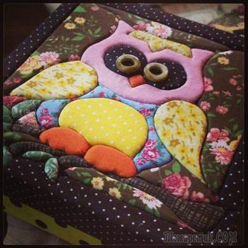 Картины из лоскутов ткани: мастер-классы