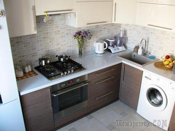 Кухня: лаконичность и функциональность