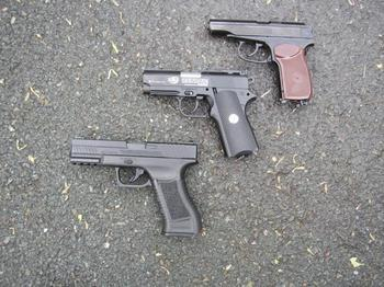 Пистолет Макарова пневматический: основные характеристики