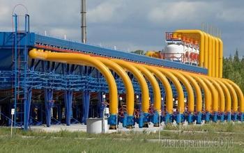 Россия снизила транзит газа через Украину