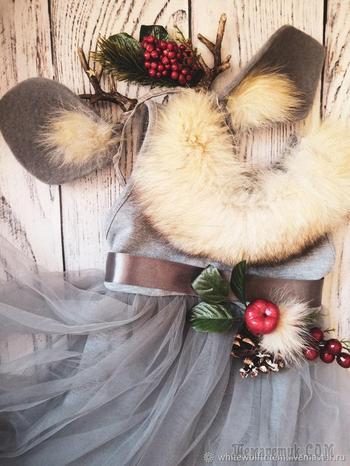 Как сделать новогодний ободок с рожками олененка
