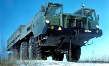 Ракетоносец МАЗ-543 — лучший четырехосный автомобиль Советской армии