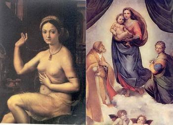 Кем была муза Рафаэля?