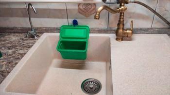 Идея для кухни из пластикового контейнера