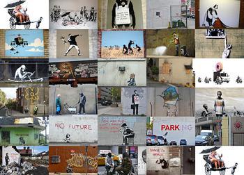 Бэнкси — самый таинственный и скандальный мастер граффити