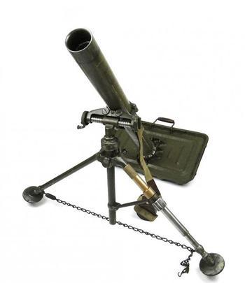 Миномет 120-мм: характеристики