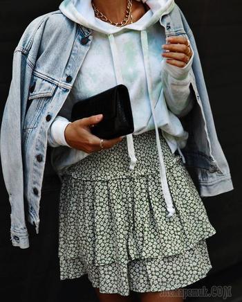 35 практичных, удобных и невероятно стильных примеров с чем носить джинсовку