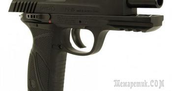 Пневматический газобаллонный пистолет Gamo PT-85 с системой Blowback