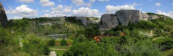 Крым. Пещерный город Эски-Кермен