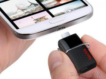 Подключение флешки к смартфону: четыре способа