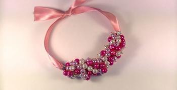 Колье «Розовые мечты»