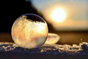 Фото о том, что зима творит чудеса покруче фотошопа