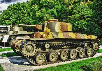 Танки страны восходящего солнца. Чем своеобразны японские танки?