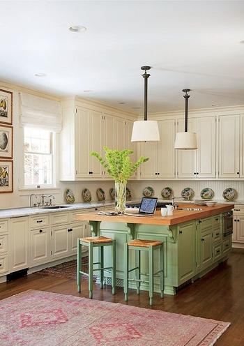 Идеи окрашивания кухонных шкафов