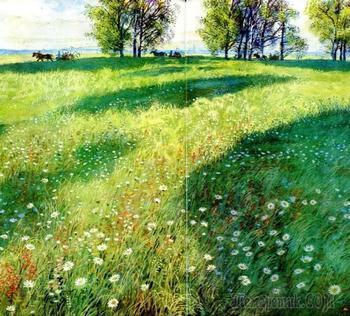 Устинов Николай Александрович - иллюстратор любимых книг детворы о природе
