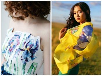 Батик: техника росписи на ткани