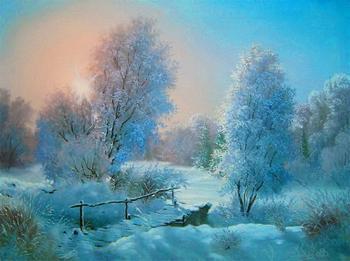 Пейзажи художника Владимира Воробьева