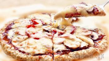 Мясная пицца без теста за 15 минут