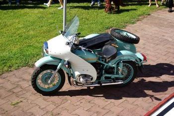 «М-100» - мотоцикл особого назначения