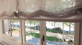 Бюджетные шторы с подъёмным механизмом