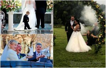 17 смешных свадебных моментов, которые едва ли удастся забыть