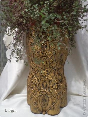Красивая подставка для цветов своими руками