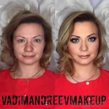 Российский визажист так преображает женщин при помощи макияжа