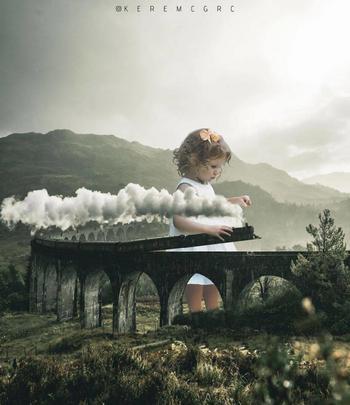 20 сюрреалистических фотографий, которыми художник пытается взорвать всем мозг