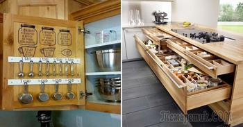Восхитительные примеры организации пространства маленькой кухни