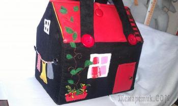 Сумка-домик. Креативно, стильно, необычно и очень просто шить